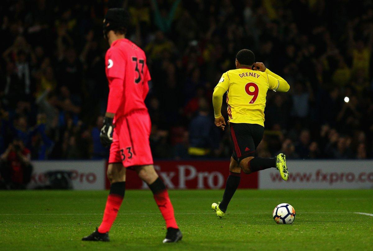 Arsenal thua te hai