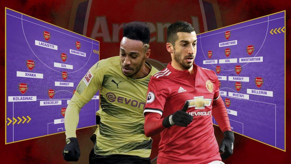 Arsenal sẽ có nhiều phương án khi Aubameyang và Mkhitaryan đến