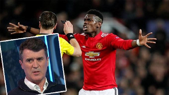 Roy Keane cho rằng Pogba đang chơi kém