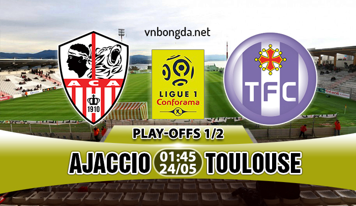 Link sopcast: Ajaccio vs Toulouse