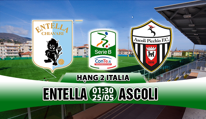 Link sopcast: Entella vs Ascoli