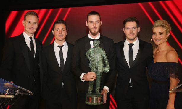 De Gea giật giải hay nhất mùa giải của Man United