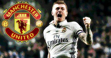 Toni Kroos đã đồng ý tới Man Utd