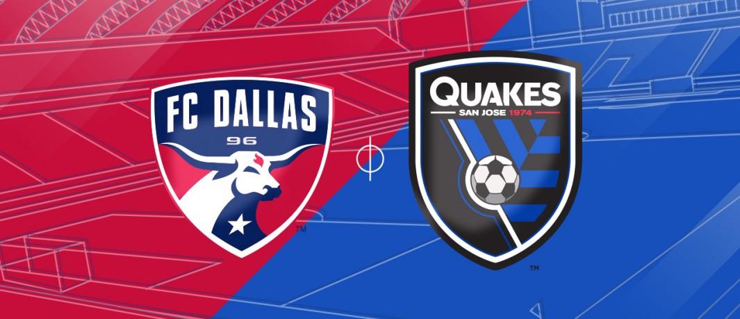 San Jose vs FC Dallas ( 09h30 ngày 30/8: Nhà nghề Mỹ)