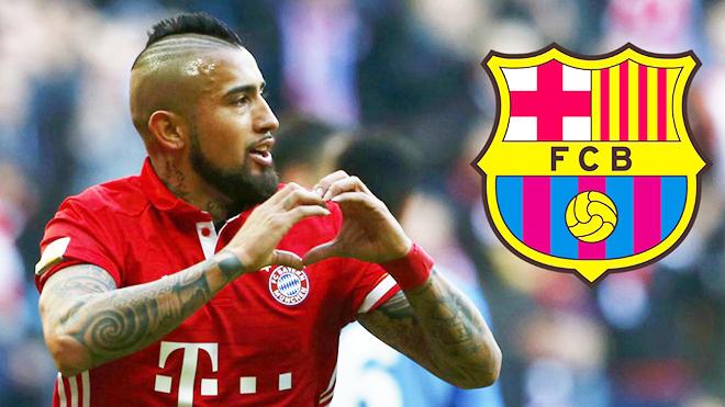 Vidal sẽ đến Barca