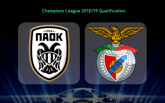 PAOK vs Benfica (02h00 ngày 30/08: Champions League)