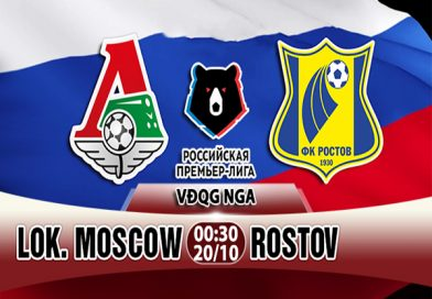Nhận định Lokomotiv vs FK Rostov, 00h30 ngày 20/10: Giải Ngoại Hạng Nga