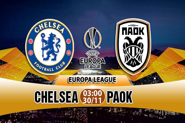 Link Sopcast Chelsea vs PAOK
