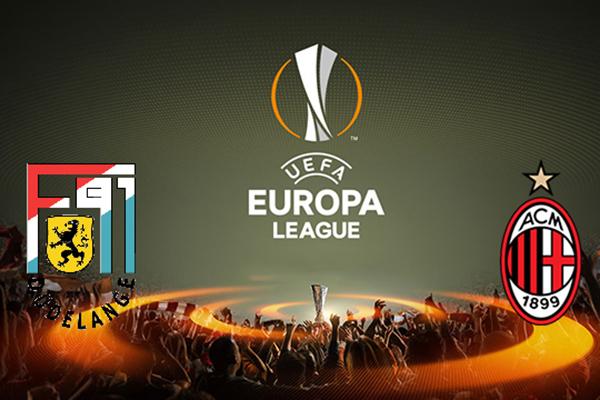 Link Sopcast AC Milan vs Dudelange