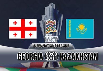Link Sopcast Georgia vs Kazakhstan, 00h00 ngày 20/11: UEFA Nations League