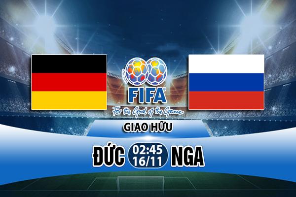 Link Sopcast Đức vs Nga