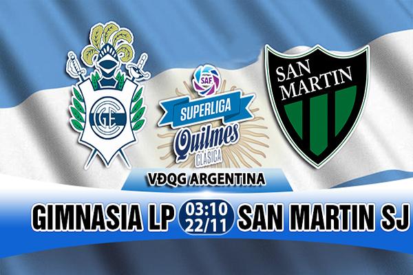 Link Sopcast Gimnasia vs San Martin