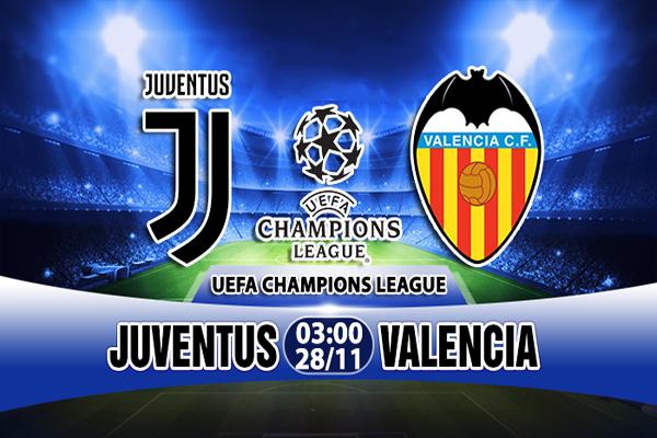 Link Sopcast Juventus vs Valencia