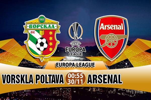 Link Sopcast Vorskla Poltava vs Arsenal