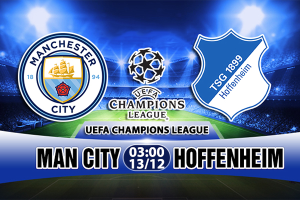 Link Sopcast Man City vs Hoffenheim