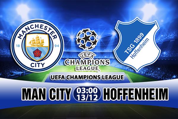 Link Sopcast Man City vs Hoffenheim