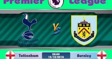Link Sopcast Tottenham vs Burnley, 22h00 ngày 15/12: Ngoại Hạng Anh