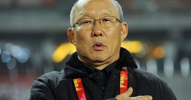 HLV Park Hang Seo dẫn dắt U23 Việt Nam tại Sea Game 2019