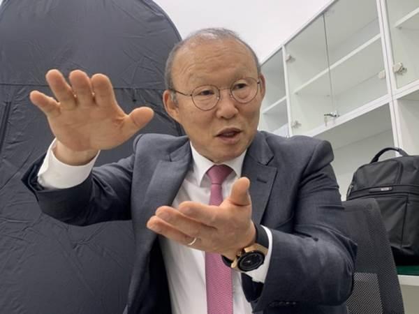Thầy Park rất quyết tâm cho chiến dịch SEA Games sắp tới.