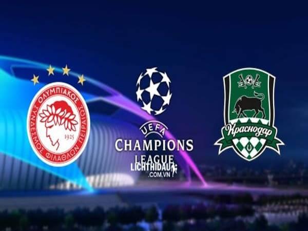 Nhận định Olympiacos vs Krasnodar, 02h00 ngày 22/08