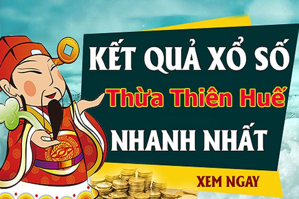 Dự đoán kết quả XS Thừa Thiên Huế Vip ngày 19/08/2019