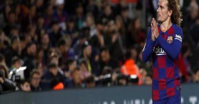 Tin thể thao 8/4: CLB Barcelona quyết định tương lai của Griezmann