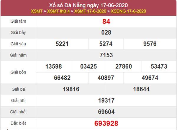 Dự đoán XSDNG 20/6/2020 chốt KQXS Đà Nẵng thứ 7