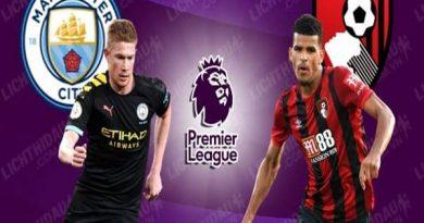 Nhận định Man City vs Bournemouth, 00h00 ngày 16/7
