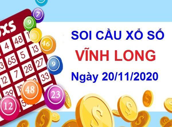 Soi cầu XSVL ngày 20/11/2020