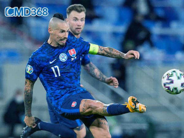 Slovakia ăn mừng chiến thắng tại vòng loại Euro 2020