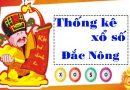 Thống kê XSDNO 23/10/2021, thống kê xổ số Đắk Nông